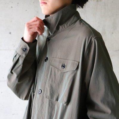 saby (サバイ) / MIL SHIRT (100/2 Gass Boil fab) - KHAKI