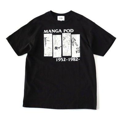 NuGgETS (ナゲッツ) / MANGA POD SS TEE - BLACK