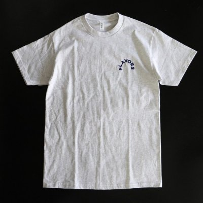 THE FLAVOR DESIGN(ザフレーバーデザイン) / KNOCKOUT247別注 FLAVORS Tee - ASH/NAVY