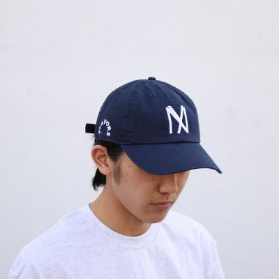 THE FLAVOR DESIGN (ザフレーバーデザイン) / KNOCKOUT247別注 FLAVORS CAP - NAVY