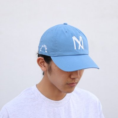 THE FLAVOR DESIGN(ザフレーバーデザイン) / KNOCKOUT247別注 FLAVORS CAP - BLUE