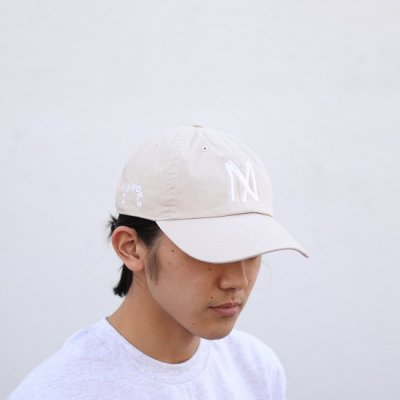 THE FLAVOR DESIGN (ザフレーバーデザイン) / KNOCKOUT247別注 FLAVORS CAP - BEIGE