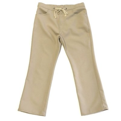 go-getter (ゴーゲッター) / #006 Remake FLARE EASY PANTS 5 - BEIGE