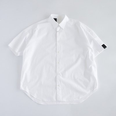 N.HOOLYWOOD(エヌハリウッド) / HALF SLEEVE BIG SHIRT - WHITE (SH12-101)
