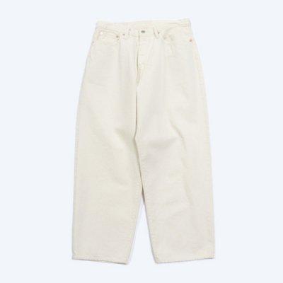 Sanca (サンカ) / NATURAL DENIM WIDE 5P PANTS - NATURAL