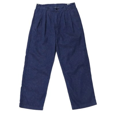 orslow (オアスロー) / 2TUCK DENIM WIDE TROUSER - ONE WASH