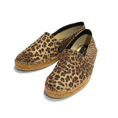 SALVI(サルヴィ)/ ANIMAL ESPADRILLES - LEOPARD