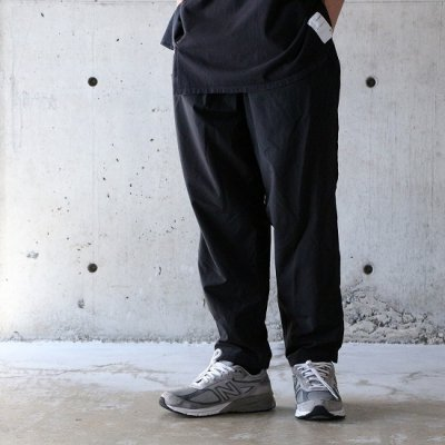 BURLAP OUTFITTER (バーラップアウトフィッター) / TRACK PANTS - BLACK