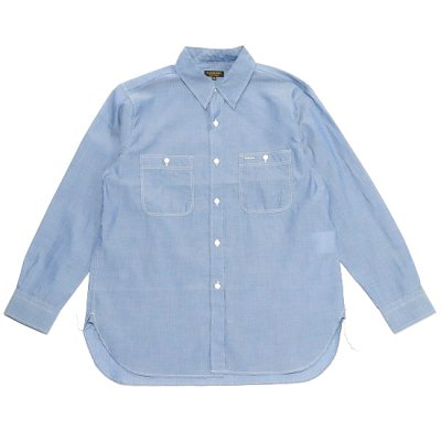 A VONTADE (ア ボンタージ) / LAX WORK SHIRTS - Lt.BLUE