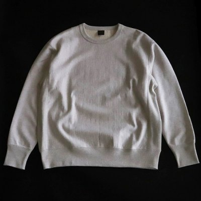 A Vontade (ア ボンタージ) / Reverse Crew Sweat L/S - OATMEAL