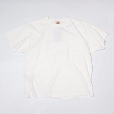 GOODWEAR (グッドウェア) / CREW NECK POCKET TEE BIG - WHITE