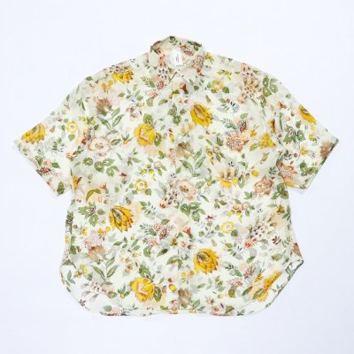 it's inconspicuous presence (Niche. ニッチ) / SILK SS OVER SHIRTS - PINK