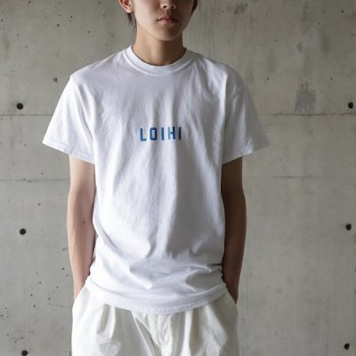 FUNG (ファング) / PRINT Tee (LOIHI) - WHITE