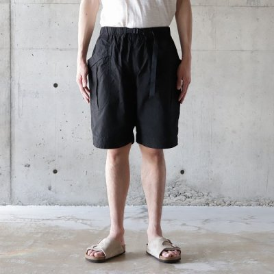 A Vontade(ア ボンタージ) / Fatigue Shorts - BLACK