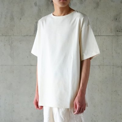 A VONTADE (ア ボンタージ) / BASQUE T-SHIRTS SS - ECRU