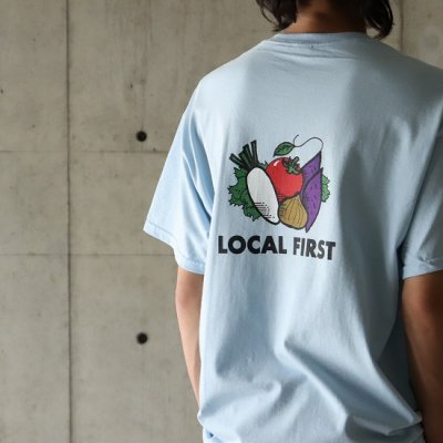 JA伊勢×KNOCKOUT / LOCAL FIRST S/S Tee - Lt.BLUE