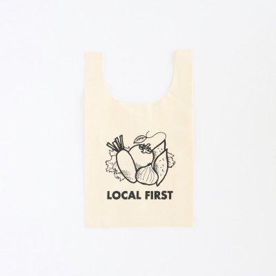 JA伊勢×KNOCKOUT / LOCAL FIRST BAG - NATURAL
