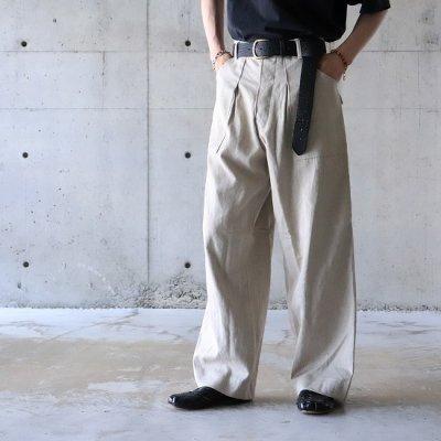 Willow Pants (ウィローパンツ) / P-001 L/P PANTS - NATURAL