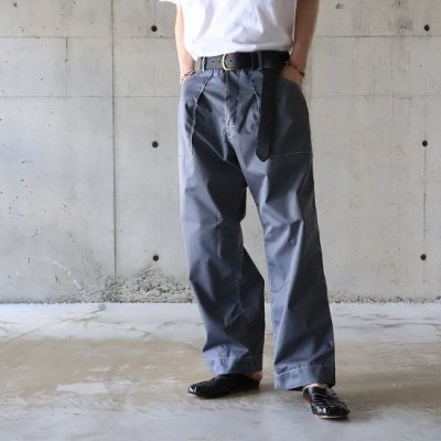 Willow Pants (ウィローパンツ) / P-001 T/C PANTS - GRAY