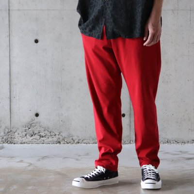 ANDER(アンダー) / A-17 PANTS - RED