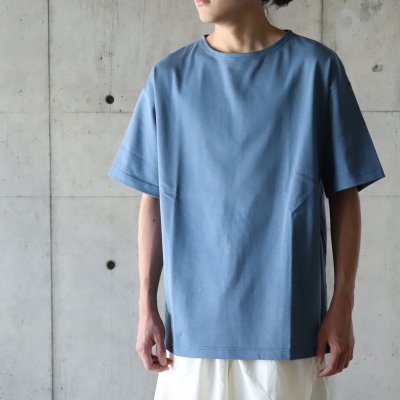 A VONTADE (ア ボンタージ) / BASQUE T-SHIRTS SS - SLATE