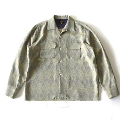 <img class='new_mark_img1' src='https://img.shop-pro.jp/img/new/icons13.gif' style='border:none;display:inline;margin:0px;padding:0px;width:auto;' />Needles (ニードルス)/ C.O.B. Classic Shirts - Pe/R/Ac/C. Argyle Jq