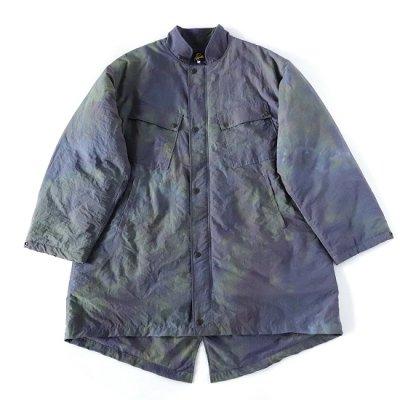 Needles (ニードルス) / C.P. Coat - Nylon Tussore (Uneven Dye) - EGG PLANT