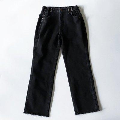 go-getter (ゴーゲッター) / REMAKE HOOK DENIM PANTS #1 - BLACK