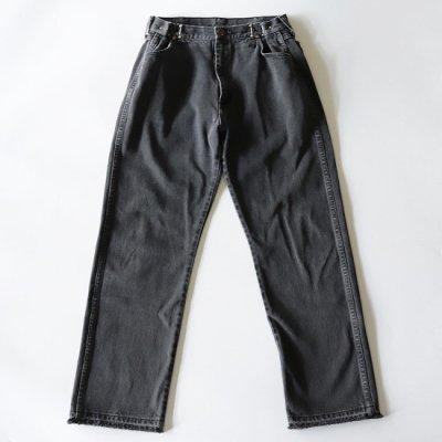 go-getter (ゴーゲッター) / REMAKE HOOK DENIM PANTS #2 - BLACK