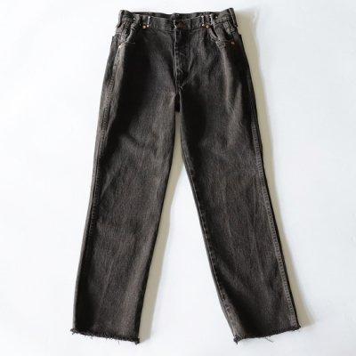 go-getter (ゴーゲッター) / REMAKE HOOK DENIM PANTS #3 - BLACK