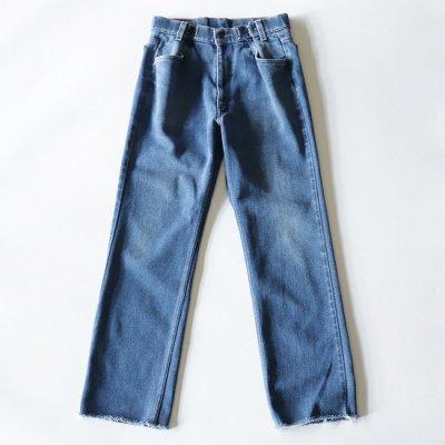 go-getter (ゴーゲッター) / REMAKE HOOK DENIM PANTS (LV) #3 - BLUE