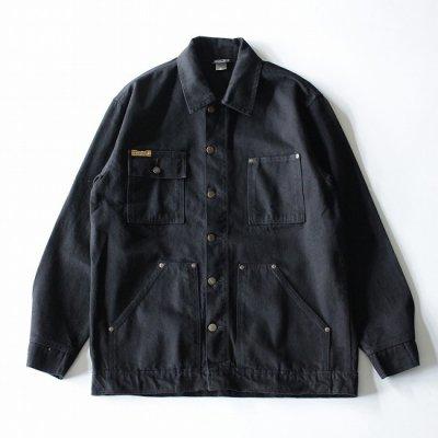 PRISON BLUES (プリズンブルー) / DENIM YARD COAT - BLACK