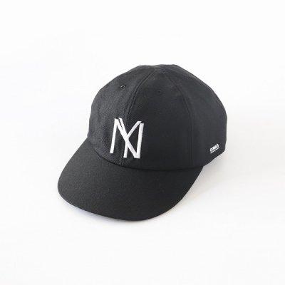 COMESANDGOES (カムズアンドゴーズ) / BLACK YANKEES CAP - BLACK