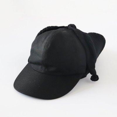 COMESANDGOES (カムズアンドゴーズ) / CAPHAT EAR CAP - BLACK