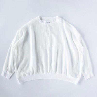 NISH (ニッシュ) / SWEAT SHIRT - OFF