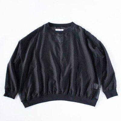 NISH (ニッシュ) / SWEAT SHIRT - BLACK