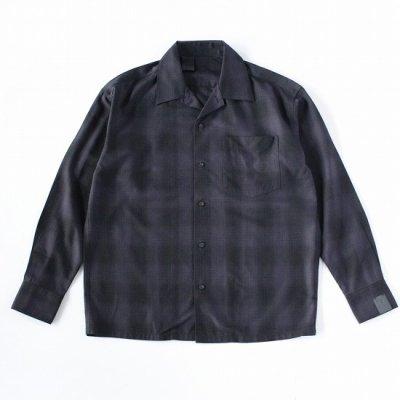 N.HOOLYWOOD (エヌハリウッド) / 2212-SH06-010 peg SHIRT - BLACK CHECK