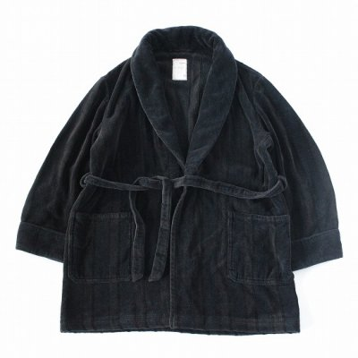 go-getter (ゴーゲッター) / REMAKE OVER DYE GOWN 1 - BLACK