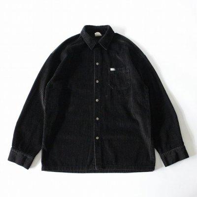 CALTOP (キャルトップ) / CORDUROY LS SHIRTS - BLACK