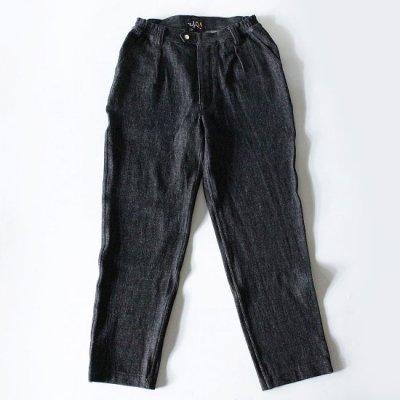 Willow Pants (ウィローパンツ) / P008 別注 PANTS - BALCK DENIM