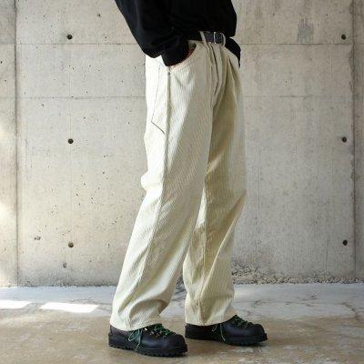 Willow Pants (ウィローパンツ) / P010 PANTS - CORDUROY IVOLY