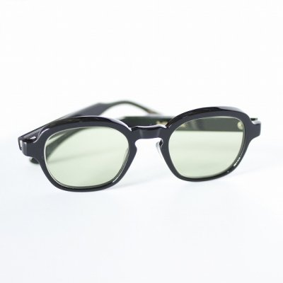 Buddy Optical(バディーオプティカル)/ Wisconsin (GREEN LENS) - BLACK