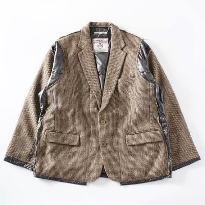 Rebuild by Needles (リビルドバイニードルス) / TWEED JACKET (Covered Jacket) - SIZE M #1