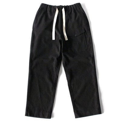 A Vontade(ア ボンタージ) / BRITISH MIL. EASY TROUSER - BLACK