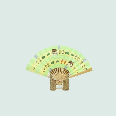 奈良絵扇子 茶席用