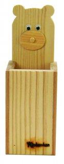 クマペン立て木工キット-おおさか河内材-