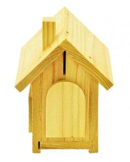 ハウス貯金箱木工キット-おおさか河内材-