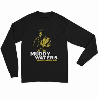 Muddy Waters Hoochie Coochie Man Long Sleeve T-Shirt / Classic Heavy Cotton<img class='new_mark_img2' src='https://img.shop-pro.jp/img/new/icons12.gif' style='border:none;display:inline;margin:0px;padding:0px;width:auto;' />