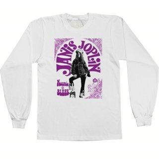 Janis Joplin Kozmic Blues Long Sleeve T-Shirt / Classic Heavy Cotton<img class='new_mark_img2' src='https://img.shop-pro.jp/img/new/icons12.gif' style='border:none;display:inline;margin:0px;padding:0px;width:auto;' />