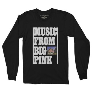 The Band Music From Big Pink Long Sleeve T-Shirt / Classic Heavy Cotton<img class='new_mark_img2' src='https://img.shop-pro.jp/img/new/icons12.gif' style='border:none;display:inline;margin:0px;padding:0px;width:auto;' />